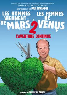 affiche Les hommes viennent de Mars et les femmes de Vénus