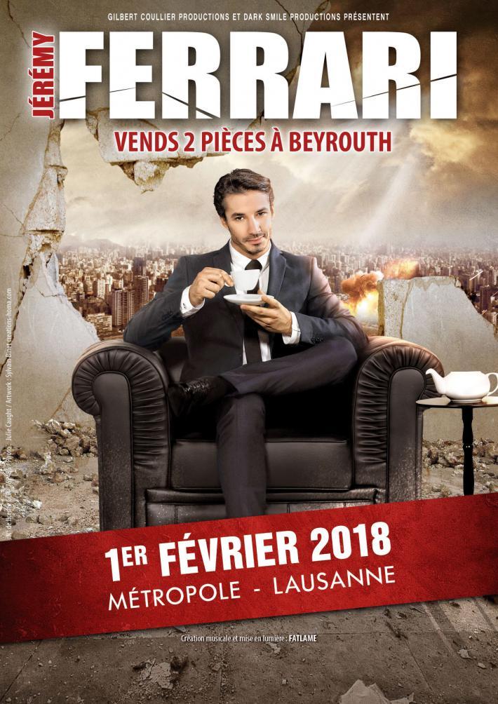 Salle Métropole - Rue de Genève 12, Lausanne, Jeudi 1 février 2018