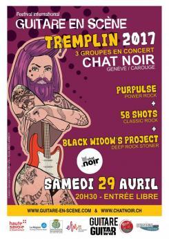 affiche Tremplin du Festival Guitare en Scène