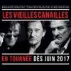 affiche  les Vieilles Canailles : Johnny Hallyday, Eddy Mitchell et Jacques Dutronc