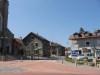 Carrefour devant l'église