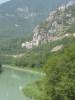 Fort l'Ecluse, vue du pont