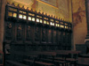 Les stalles du pupitre nord (env. 1450)