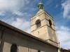 Le clocher (base datant du XIe siècle)