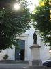 Statue de Marie, devant l'Eglise