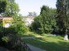 Le parc du château, vue vers l'Orangerie