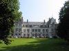 Château de Divonne, vu de l'entrée du parc (qui couvre 22 hectares)