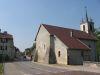 L'église, route de Divonne