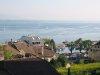 Le port de Nyon, depuis le château