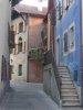 Ruelle entre la rue de Rive et la petite place sous le château