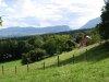 Vue du Chemin du Gachet (tout en haut du village)