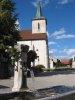 Fontaine, place de l'église
