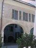Arcades et cour intérieur (maison côté lac, Grand Rue)