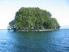 L'île de la Harpe, de face
