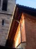 Temple de Saint Gervais, peintures sous le toit du c?ur de Saint Gervais