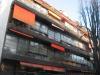 Un des bâtiments (La Maison de Verre) construit par Charles-Edouard Jeanneret (dit Le Corbusier) à Genève, près de la rue de la Terrassière.