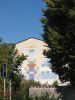 Peinture sur le côté d'un immeuble