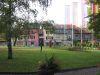 Parc de la Mairie: vue vers la route du Grand Lancy