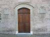 Porte de l'église de la Trinité