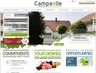 Thumbnail do site Hôtel Campanile