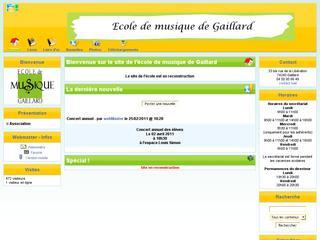 thumb Ecole de Musique de Gaillard
