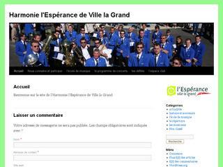 thumb Harmonie l'Espérance de Ville-la-Grand