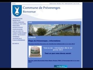 thumb Site officiel de la commune de Préverenges