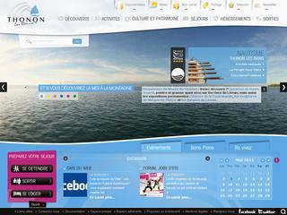 thumb Site officiel de Thonon-les-Bains