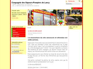 thumb Sapeurs-Pompiers de Lancy