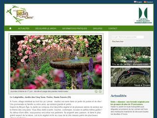 thumb Le labyrinthe - Jardin des 5 Sens d'Yvoire