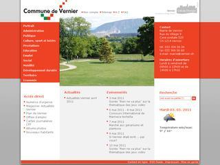 thumb Site Officiel de la commune de Vernier