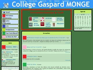 thumb Collège Gaspard MONGE de St Jeoire
