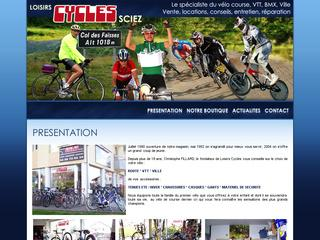 Thumbnail do site Loisirs Cycles