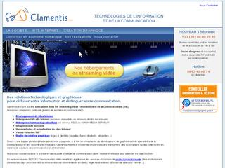 Thumbnail do site Clamentis - Internet et reseaux