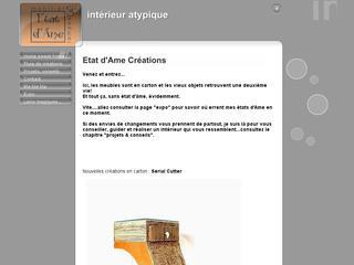 thumb Etat d'Ame - Meubles en carton et décoration