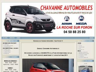 thumb Chavanne Automobiles