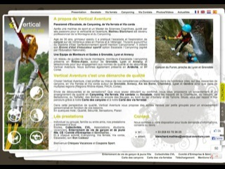 Thumbnail do site Annecy Vertical Aventure Ca<b>nyon</b>ing