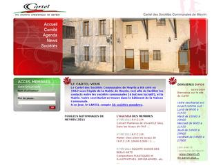 thumb Cartel des sociétés communales de Meyrin