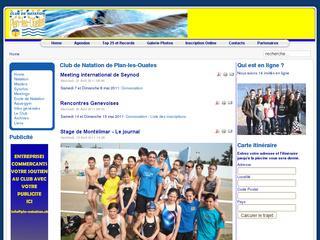 thumb Club de natation de Plan-les-Ouates