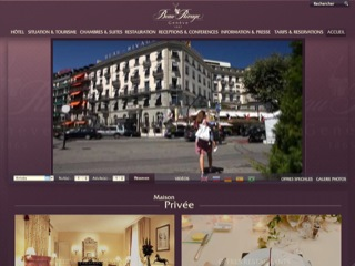 Thumbnail do site Hôtel Beau Rivage *****