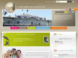 Thumbnail do site Office de Tourisme de <b>Ferney-Voltaire</b>