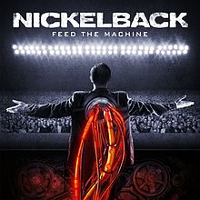 affiche Nickelback « Feed The Machine »
