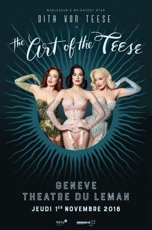 Théâtre du Léman - 19, quai du Mont-Blanc - Genève, Jeudi 1 novembre 2018
