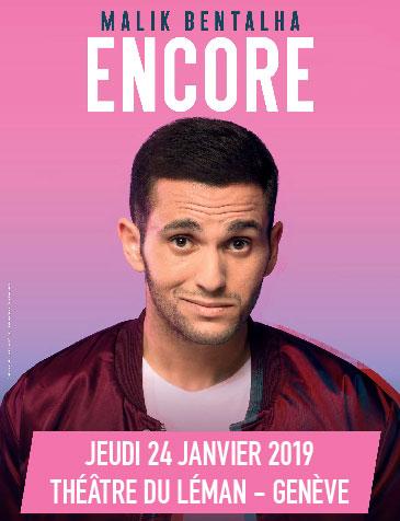 Théâtre du Léman - 19, quai du Mont-Blanc - Genève, Jeudi 24 janvier 2019
