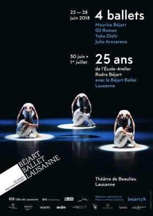 Théâtre de Beaulieu - Av. des Bergières 10, Lausanne, Du 30 Juin au 1/7/2018