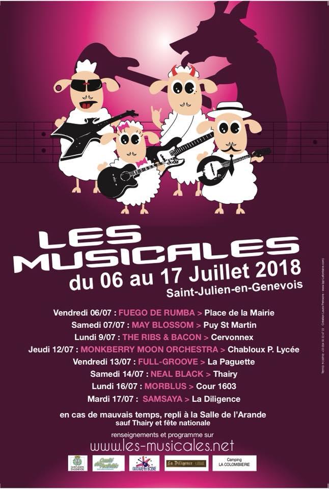 Place de la Mairie - Saint Julien en Genevois, Vendredi 6 juillet 2018