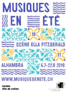 Scène Ella Fitzgerald - Parc La Grange, Quai Gustave-Ador, 1207 Genève, Mercredi 25 juillet 2018
