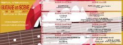 affiche 11ème Festival GUITARE EN SCÈNE