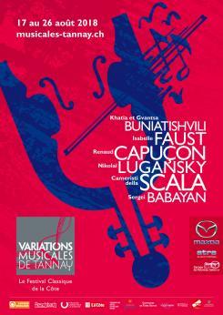 affiche Variations Musicales de Tannay