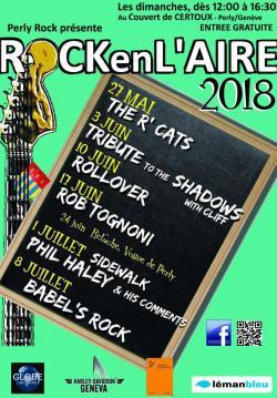 affiche Rock en l'Aire 2018 - Babel's Rock
